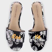 Women's Sloane Palm Slide Sandals Who What Wear Black See Ya