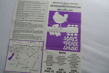 Woodstock 1969_*Walkill*_Original Site_ Ticket Order Form_Hendrix