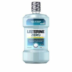 LISTERINE Cool Mint Zero Alcohol  Mild Mint 16.9 oz 500ml