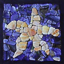 striking print of SHELL FRAGMENT mosaic STARFISH ultra matt print GREETING CARD