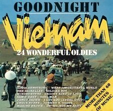 Goodnight Vietnam-24 wonderful Oldies Louis Armstrong, Shirelles, Mindben.. [CD]