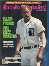 Kirk Gibson and other free agents, Sports Illustrated, Dec 9, 1985
