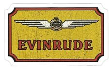 EVINRUDE  OUTBOARD BOAT MOTORS  Sticker Decal  MADE IN USA