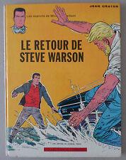 GRATON  *** MICHEL VAILLANT 9. LE RETOUR DE STEVE WARSON  *** EO 1965