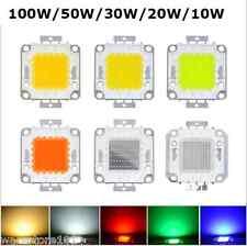 Smd LED blanco Super Brillantes De Chip De Alta Potencia Lámpara Foco Bombilla 10/20/30 / 50/100w