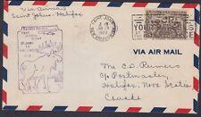 1929 First Flight Chibougamau to Oskelaneo QC, Scott 146, Lot 6944