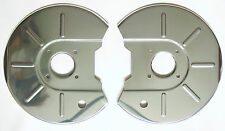 MGB Pair Stainless Steel Disc Brake Covers, MG parts BTB412 & BTB413