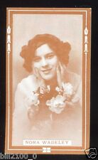 PHOTO . IMAGE ANCIENNE DE COLLECTION .. Nora Wadeley  . ACTRICE .ACTRESS .