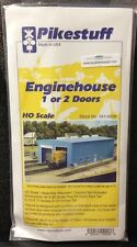 Pikestuff 8 HO Modern 1 or 2 Door Engine House kit RIX Product MODELRRSUPPLY-com