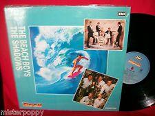 THE BEACH BOYS + THE SHADOWS Promo split LP ITALY 1988 MINT- Unique Surf Cover
