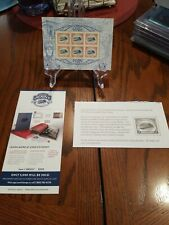 Inverted Jenny Usps Stamps 6 pane $2 Stamps Mnh w/info