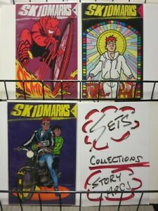 SKIDMARKS (1992 TUNDRA UK) 1-3  Ed Hillyer  COMPLETE!!!
