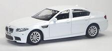 BMW M5 Sportlimousine Sammlermodell weiß ca. 1:43 / 10cm Neuware von RMZ City