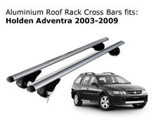 Aluminium Roof Rack Cross Bars fits Holden Adventra Wagon 2003-2009