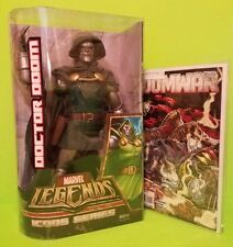Marvel Legends Icon Series DOCTOR DOOM New in Original Package + DOOM WAR 1-6
