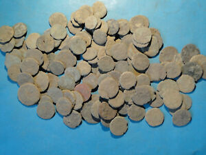 Job Lots of 20 Assorted low grade Roman Bronze Coins for Cleaning and Research