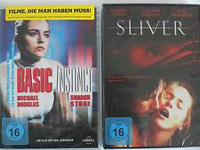 Basic Instinct + Sliver - Erotik Kultfilm Sammlung, Sharon Stone zeugefreudig