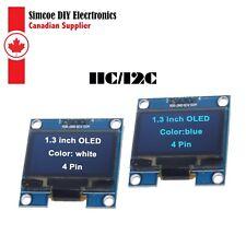"""Geekcreit 1.3"""" White / Blue OLED  4Pin Display Module IIC I2C 128x64 3-5V #705"""