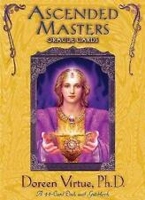 ASCENDED MASTERS ORACLE CARDS - DOREEN VIRTUE (PAPERBACK) NEW