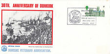 19 JUNE 1970 30th ANNIVERSARY OF DUNKIRK OFFICIAL COMMEMORATIVE COVER DOVER SHS