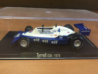 "DIE CAST "" TYRRELL 008 - 1978 "" FORMULA 1 RBA  SCALA 1/43"