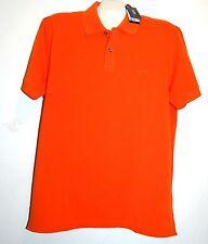 HUGO BOSS Nice Orange Logo Cotton Polo MEN'S T-Shirt Size 2XL NEW