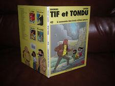 TIF ET TONDU N°42 L'ASSASSIN DES 3 VILLES SOEURS - EO CARTONNEE JANVIER 1995