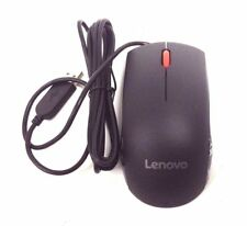 Lenovo 00PH128 USB Wired Optical Mouse Black - Brand New