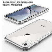Case For iPhone XR / iPhone XS Max Soft Crystal Clear Silicone Shockproof Cover