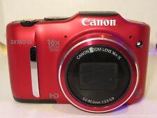 Canon PowerShot SX160 Digital Camera  RED