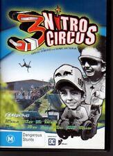 NITRO CIRCUS 3 - DVD NTSC - Gregg Godfrey - Travis Pastrana - LIKE NEW FREE POST