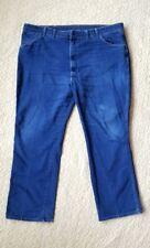WRANGLER Comfort Solutions Jeans Medium/Dark Wash Denim Mens 46 X 32 85498PS