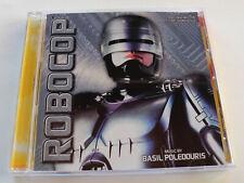 Basil Poledouris ROBOCOP Expanded Soundtrack CD Near Mint