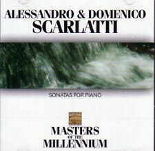 CD SCARLATTI KEYBOARD PIANO SONATAS  CONCERTO FIPPLE FLUTE & STRINGS