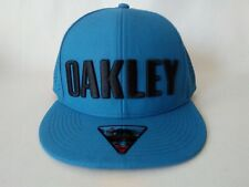 Men's Oakley Perforated Snapback California Blue One Size