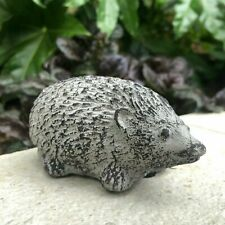Stone Concrete Hedgehog Garden Patio Ornament Home Statue Outdoor Decoration