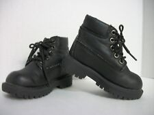 Toddler Boys Size 7 Id Required Waterproof Shoes, Black Hiking Boots, Ec