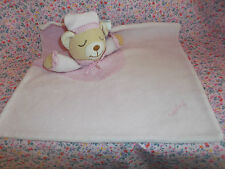 ♥ Schmusetuch Playshoes rosa Bär Teddy  ❤️