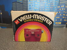VIEWMASTER VIEWER GAF RED AND WHITE NOS