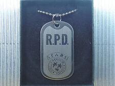 Resident Evil Biohazard RPD S.T.A.R.S. Dog Tag Neckace