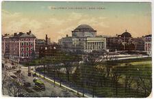 1912  Postcard Columbia University New York Westwood NJ to Brooklyn NY