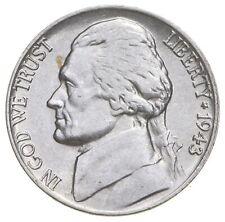 5c BU Unc MS 1943-P Jefferson WARTIME Silver Nickel *661