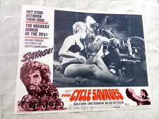 The Cycle Savages (1970). Lobby Card