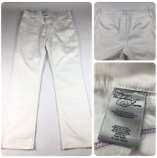 NYDJ Not Your Daughters Jeans Women White Jeans Size
