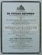 SECONDO VITALI_MILITARIA_MEDICINA_VERONA_PERGOLA_MARCHE_1867_ANTICO NECROLOGIO
