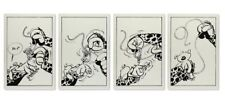 Plaque émaillée Spirou et Fantasio Strip : le Nid des Marsupilamis