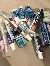 Colgate Crest Pronamel Listerine Toothpaste Toothbrush Mouth Wash Lot
