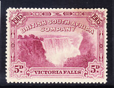 RHODESIA British South Africa Co 1905 SG96 5d claret P141/2-15 fine Used cat £42