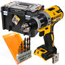 Dewalt DCD796 18v Brushless Combi Drill + DWST1-71195 Case & 8pc Wood Drill Bit