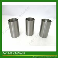 Liner / Sleeve Set for Mitsubishi K3M (100% TAIWAN MADE) X 3 PCS
